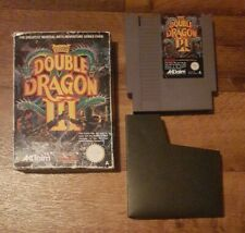 Double Dragon III 3: The Sacred Stones + box & sleeve - NES - cleaned & tested