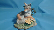 Lenox Woodland Animal Collection Peaceful Afternoon  Coyote 1998 in box