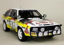 Otto escala 1/18 Audi Quattro Sport Gr. B Rally Safari 1984 Coche Modelo de Resina