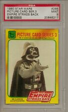 1980 STAR WARS #265 PICTURE CARD SER. 3 EMPIRE STRIKES BACK  PSA 9 MINT