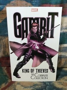 Gambit King of Thieves Complete Collection TPB Marvel Omnibus