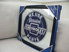 We use Genuine Chevrolet Parts MIRROR Black Framed Brand NEW GARAGE Workshop