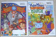 Nintendo Wii Lot - Ringling Bros Circus MAJESTIC MARCH