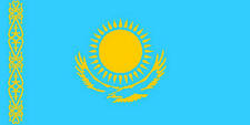 Kazakhstan 3' X 2' 3ft x 2ft Flag With Eyelets Premium Quality Borat Mankini