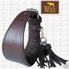 WOZA Premium Windhundhalsband Vollleder Soft Rindnappaleder Galgo Collar G5689