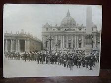 Fascismo Opera Nazionale Balilla - Banda Musicale a San Pietro 1932 Fotografia