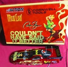 RARE, DEAN SKUZA, 1/24 ACTION 2003 FUNNY CAR, CORNWELL TOOLS--MEATLOAF
