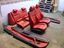 Inkl. UMBAU BMW E92 Coupe korallrot Lederausstattung sportsitze Sitze Leder rot