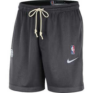 Brand New 2021 NBA Nike Brooklyn Nets Standard Issue Practice Reversible Shorts