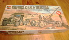 Airfix    Bofors gun & Morris tractor, & 5 crew figures