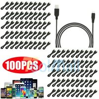 Lots 3FT Micro USB Charger Charging Sync Data Cable For Samsung Android Phone