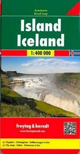Iceland: FB.210 by Freytag-Berndt (Sheet map folded 2004) New Book