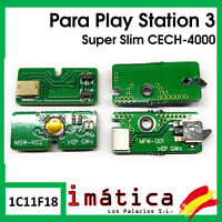 PLACA BOTON ENCENDIDO Y EXPULSION PLAY STATION 3 SUPER SLIM EJECT CECH-4000 PS3