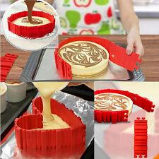 4Pcs/Set Silicone Cake Mold Bake Snake Custom Shape Nonstick Tray Baking Mould