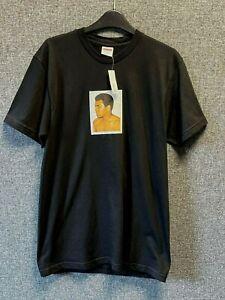 Supreme Muhammad Ali Andy Warhol Tee Black Medium TD111 AA 08