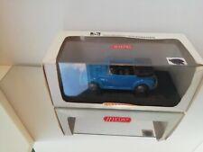 WIKING VW Volkswagen Kafer Beetle Cabriolet BLUE 1:40 MINT in Box