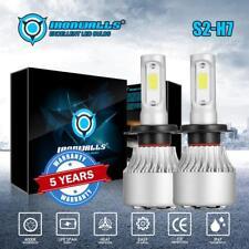 IRONWALLS S2 H7 1400W LED Headlight Bulbs COB Car Driving Lamp DRL 6000K White