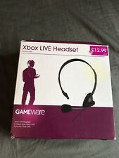 Xbox Live Headset For Xbox 360 In Box