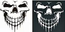 LARGE Skull Hood Decal Stickers Car Window Ute 4WD Moto Wall Graphics JDM auto