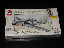 MAQUETTE - FOCKE-WULF FW 190A - AIRFIX -   1/72 - MODEL KIT - NEUVE SCELLEE