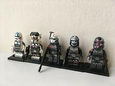 BAD BATCH CLONE FORCE 99 x5 The Clone Wars Star Wars Figure Lego Compatible UK