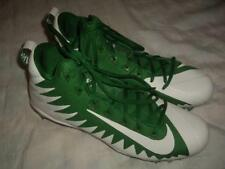 NWOB Nike Alpha Menace Pro Mid Green Football Cleats Shoes 871451-311 US Size 12