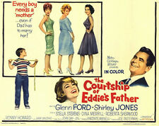 THE COURTSHIP OF EDDIE'S FATHER Movie POSTER 11x14 H Glenn Ford Shirley Jones