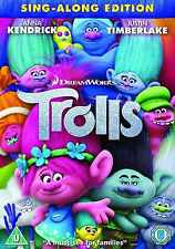 Trolls Movie DVD - Brand New & Sealed***FAST ROYAL MAIL DELIVERY***