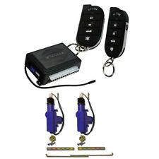 1-way Keyless Entry Car Alarm Vehicle Security System with door lock Actuator