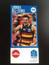 2015 Ladder AFL All Star Card Tex Walker Adelaide Crows