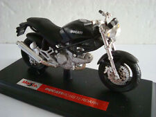 Ducati Monster Monsterdark Black Maisto 1:18