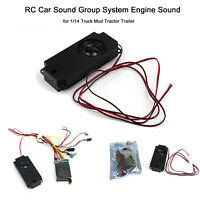 RC Car Sound Group System Motorsound für 1/14 Truck Mud Tractor Trailer Part CDE