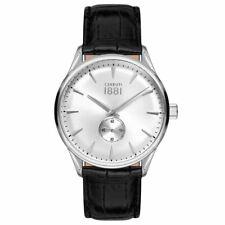 Cerruti 1881 Mens Gents Black & Silver Designer Wrist Watch CRA24005