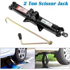 2ton Scissor Jack Lift Wind up Tools for Car Vehicle Van Garage Workshop
