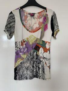 Designer Save The Queen Multicoloured Top M Medium