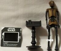 "Star Wars Power of the Force loose 3.75/"" FIGURE Lobot Cyborg Freeze Frame Bespin"