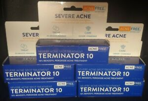 5 AcneFree Terminator 10 Severe Acne Treatment 1oz EXP 05/2022+