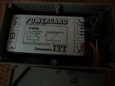 ITT Power supply in enclosure 5 to 6 Volt DC with filter. Untested. Fully fused.