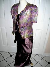 Vintage, Timeless, Silk Evening Gown Separates - Nieman Marcus - 12 & 14