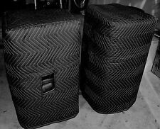 JBL MRX 515 MRX515 Premium Padded Black Speaker COVERS (2)  Qty of 1 = 1 Pair!