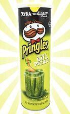 Screamin' Dill Pickle Pringles Potato Crisps Chips LIMITED EDITION 5.5 OZ