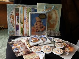 Cherished Teddies Lot of Stationery, Cards, Catalogs, brochures and pins