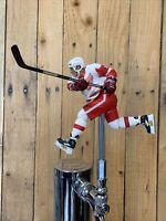 DETROIT RED WINGS Beer Keg Tap Handle  NHL HOCKEY White Jersey Hull