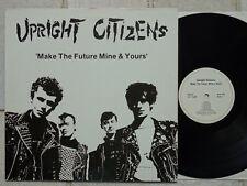 UPRIGHT CITIZENS – Make The Future Mine & Yours LP mit Textblatt H'art HART 012