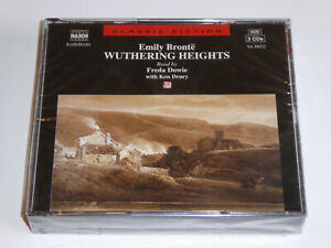 Wuthering Heights - Emily Bronte NEW / SEALED 3x CD Audiobook Naxos Freda Dowie