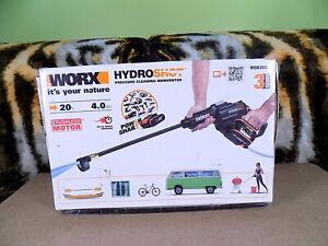 WORX WG630E.1 18V (20V MAX) Cordless Brushless Hydroshot Pressure Cleaner Work
