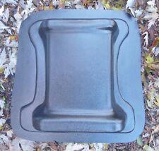 """3/16th"""" plastic bench leg mold concrete cement mould Plain design"""