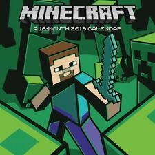 MINECRAFT - 2019 WALL CALENDAR - BRAND NEW - 895087