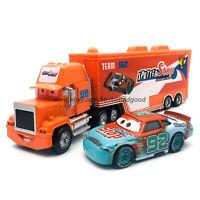 Disney Pixar Cars Sputter Stop No.92 Hauler Truck 1:55 Diecast Model Loose Toys