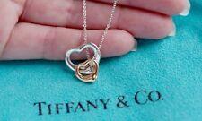 Tiffany & CO ELSA PERETTI 18 Karat 18k Rosegold Sterlingsilber offenes Herz